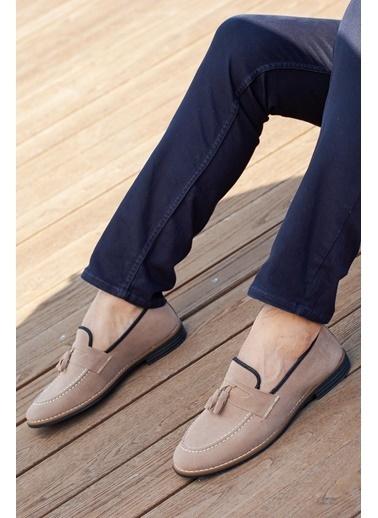 Muggo  M207 Günlük Erkek Ayakkabı Bej